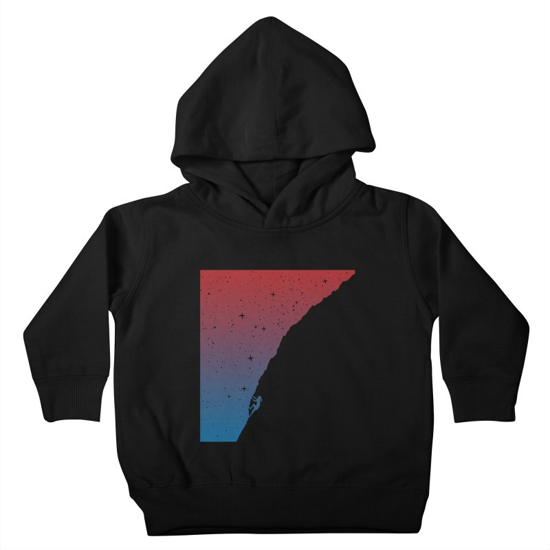 Night climbing Kids Toddler Pullover Hoody by Balazs Solti