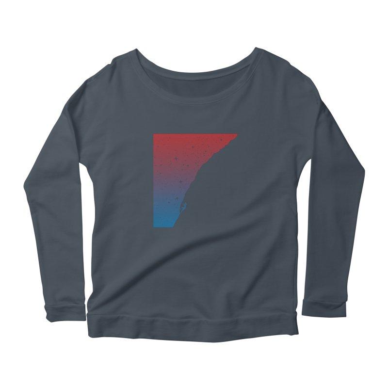 Night climbing Women's Longsleeve T-Shirt by Balazs Solti