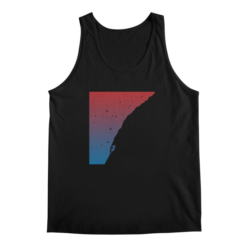 Night climbing Men's Regular Tank by Balazs Solti