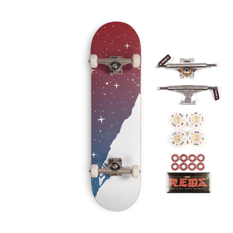 Night climbing Accessories Complete - Pro Skateboard by Balazs Solti