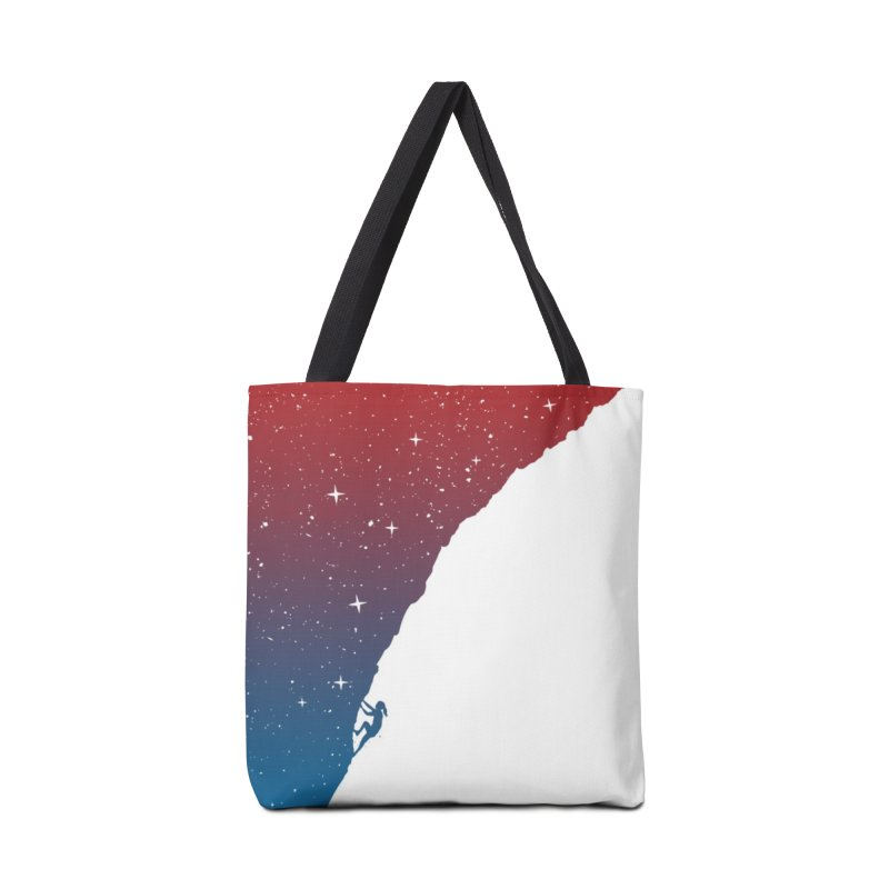 Night climbing Accessories Tote Bag Bag by Balazs Solti