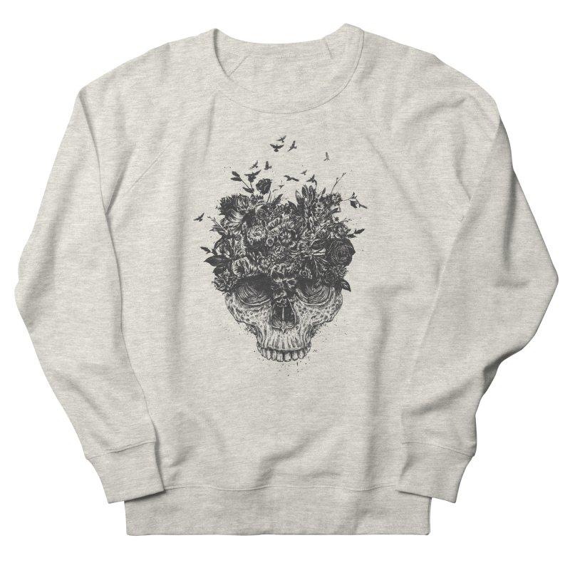 My head is a jungle (bw) Men's Sweatshirt by Balazs Solti