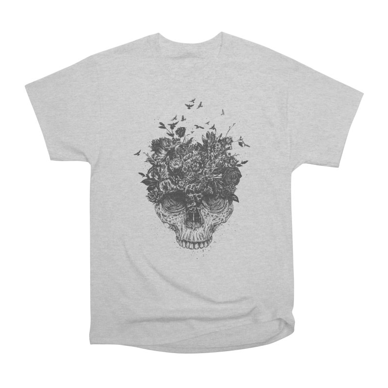 My head is a jungle (bw) Men's Heavyweight T-Shirt by Balazs Solti