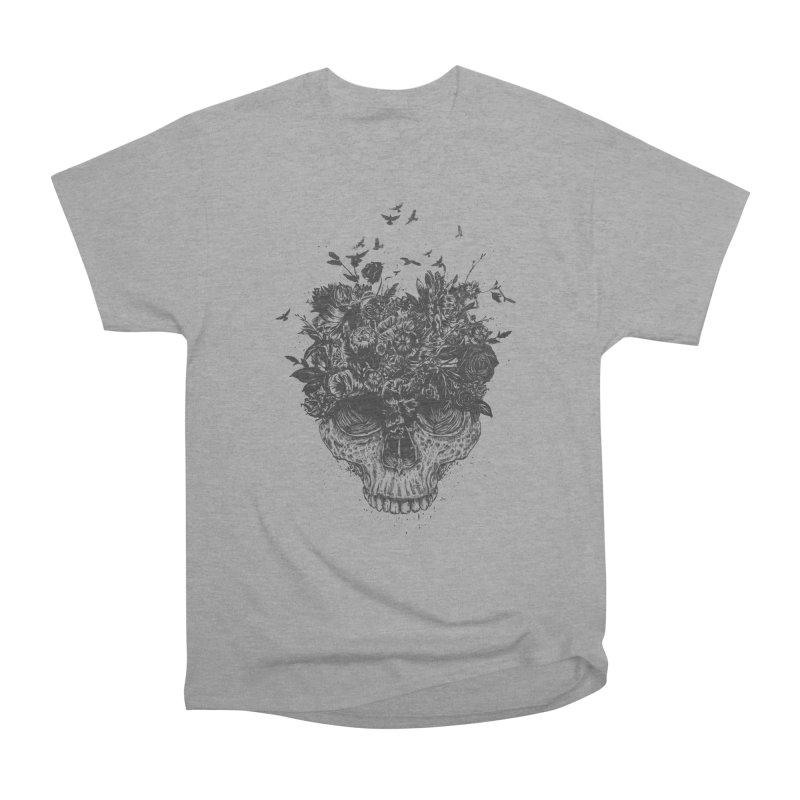 My head is a jungle (bw) Women's Heavyweight Unisex T-Shirt by Balazs Solti