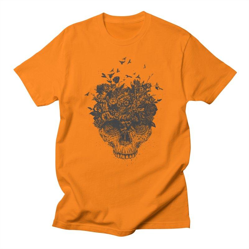 My head is a jungle (bw) Men's T-Shirt by Balazs Solti
