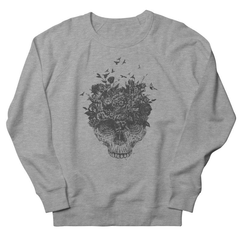 My head is a jungle (bw) Women's Sweatshirt by Balazs Solti