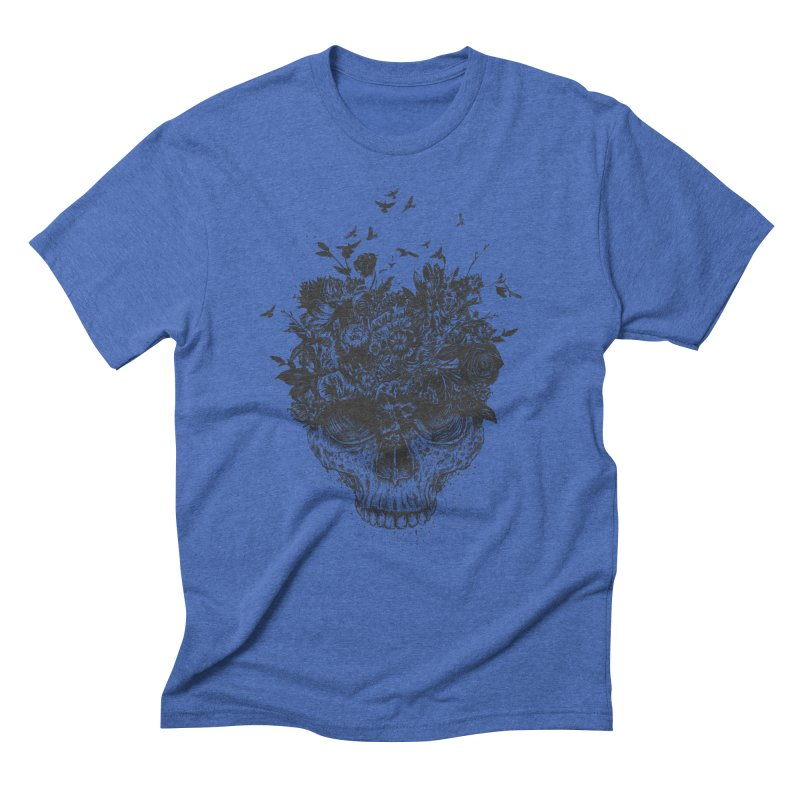 My head is a jungle (bw) Men's Triblend T-Shirt by Balazs Solti