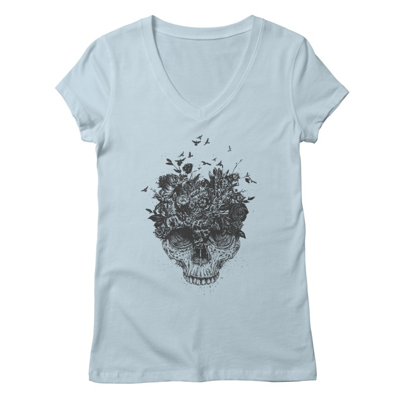 My head is a jungle (bw) Women's  by Balazs Solti