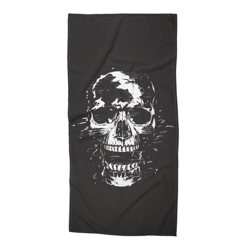 Scream Accessories Beach Towel by Balazs Solti