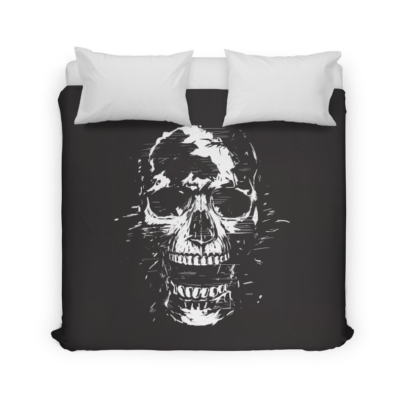Scream Home Duvet by Balazs Solti