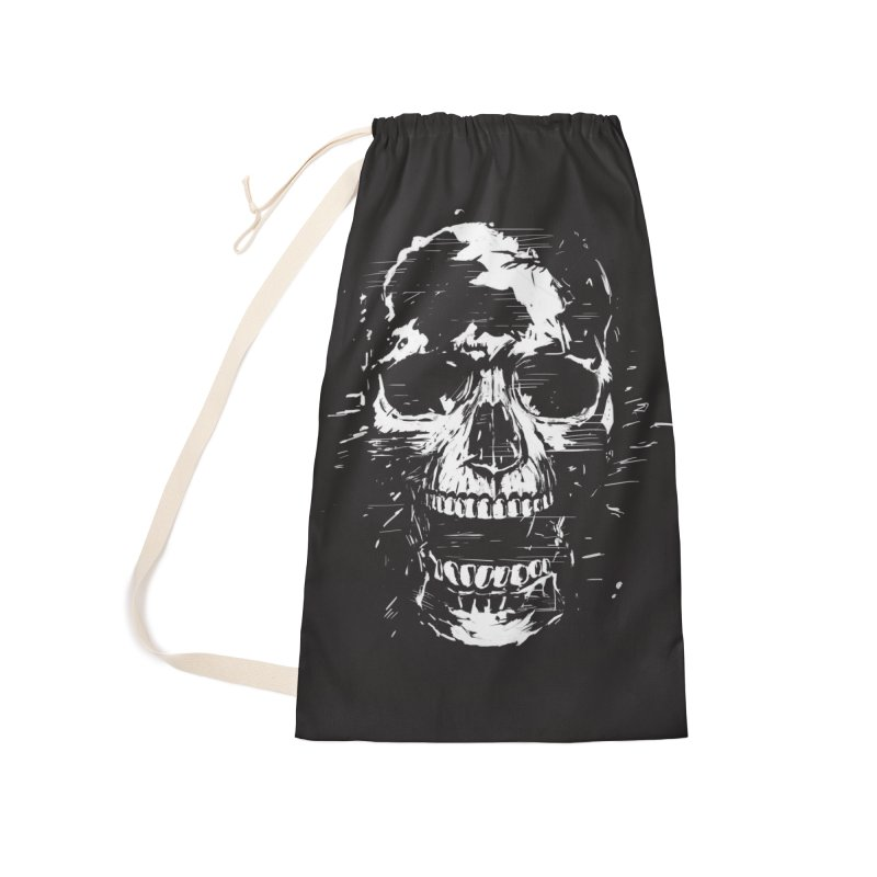 Scream Accessories Laundry Bag Bag by Balazs Solti