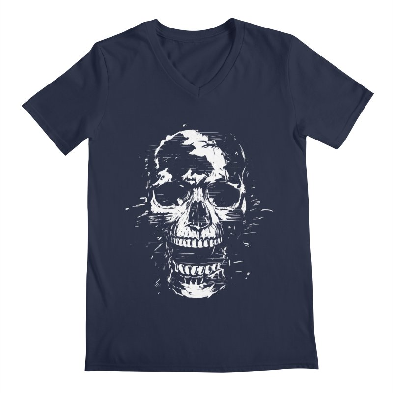 Scream Men's V-Neck by Balazs Solti