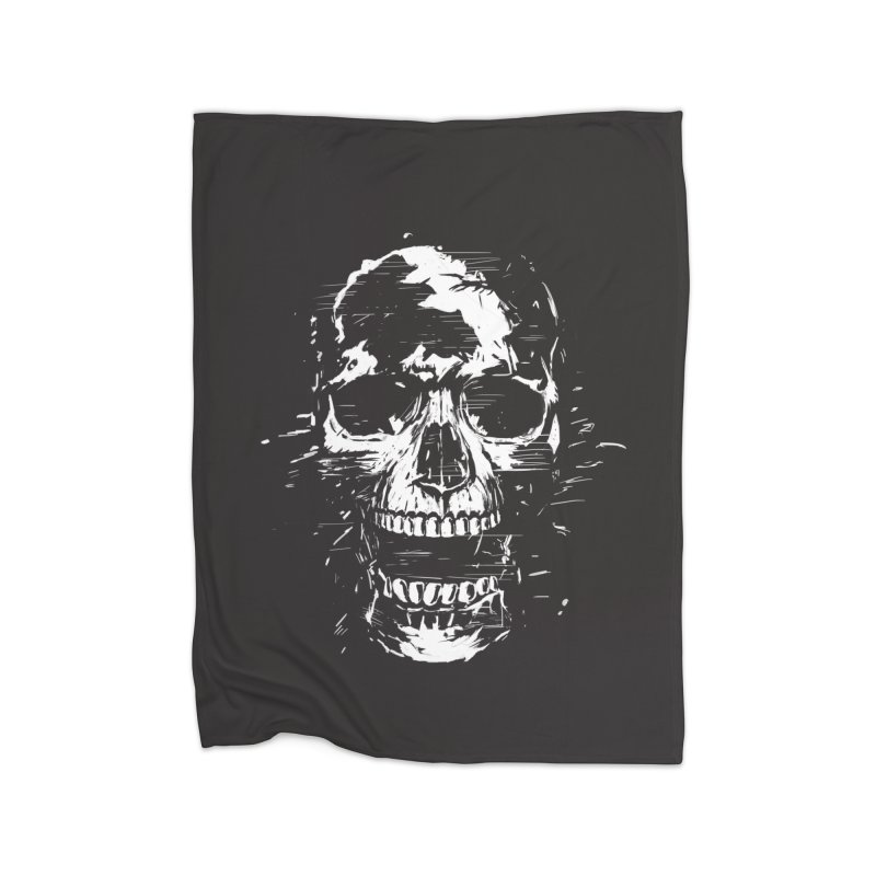 Scream Home Blanket by Balazs Solti