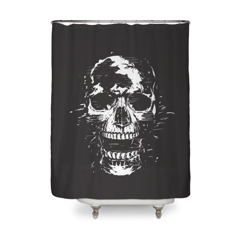Scream Home Shower Curtain by Balazs Solti