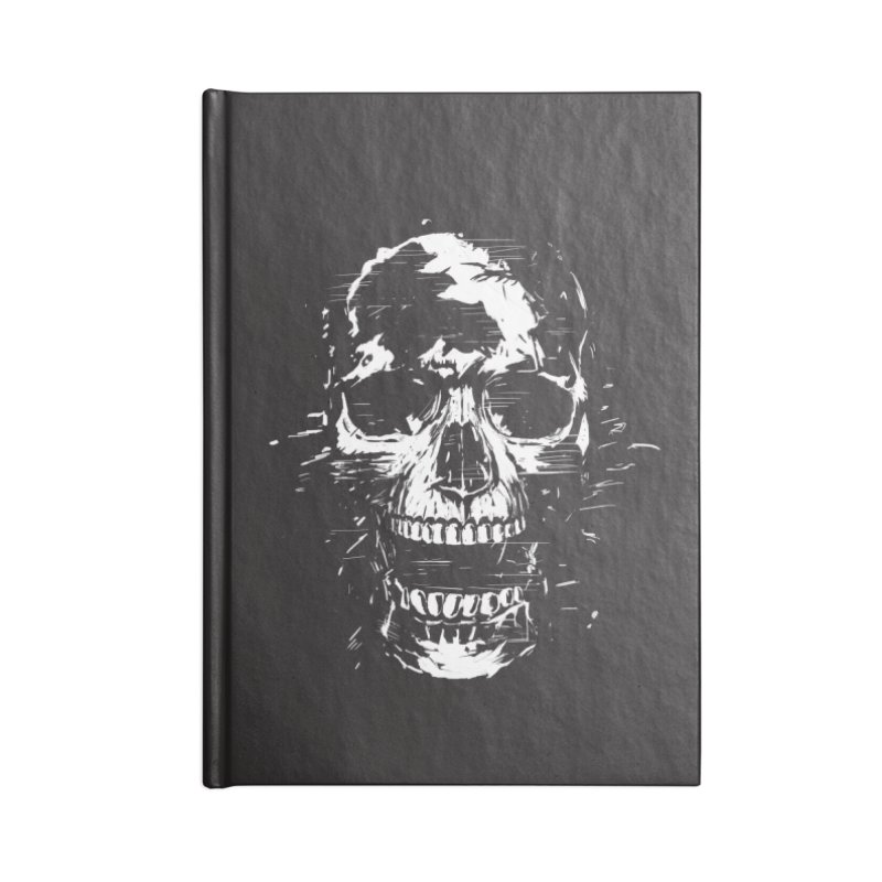 Scream Accessories Blank Journal Notebook by Balazs Solti