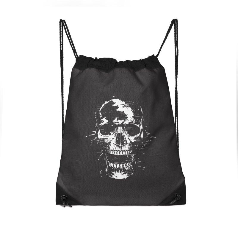 Scream Accessories Drawstring Bag Bag by Balazs Solti
