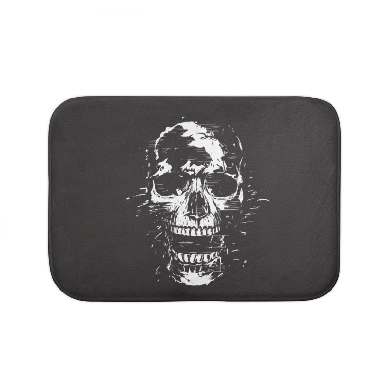 Scream Home Bath Mat by Balazs Solti