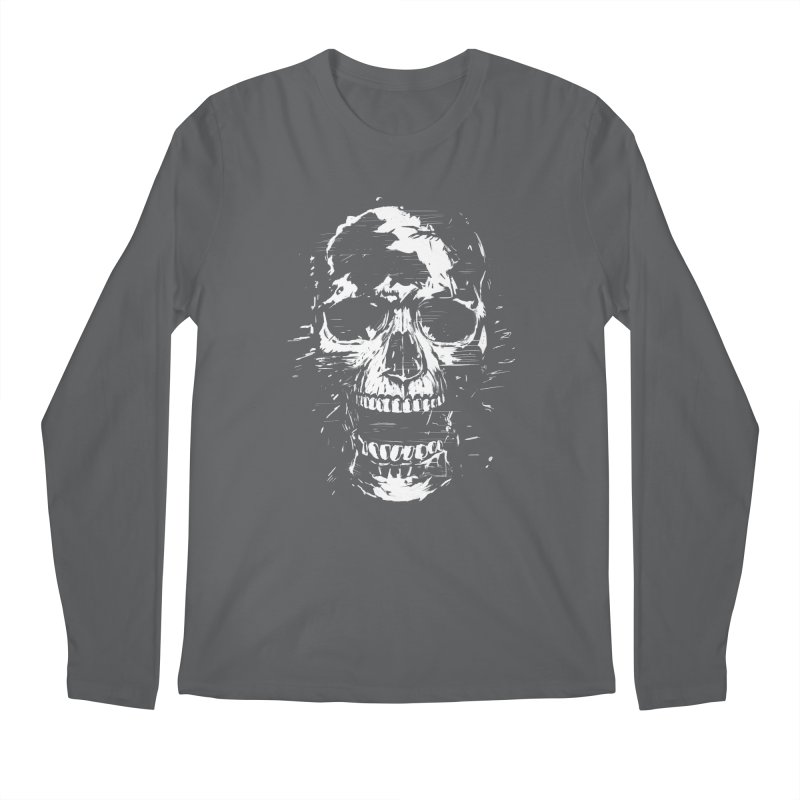 Scream Men's Regular Longsleeve T-Shirt by Balazs Solti