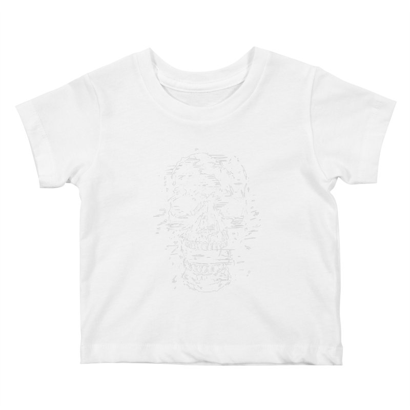 Scream Kids Baby T-Shirt by Balazs Solti