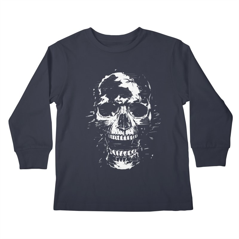 Scream Kids Longsleeve T-Shirt by Balazs Solti