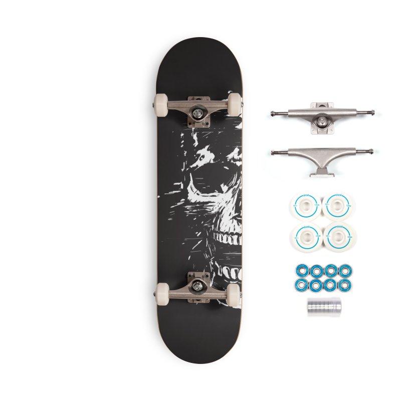 Scream Accessories Skateboard by Balazs Solti