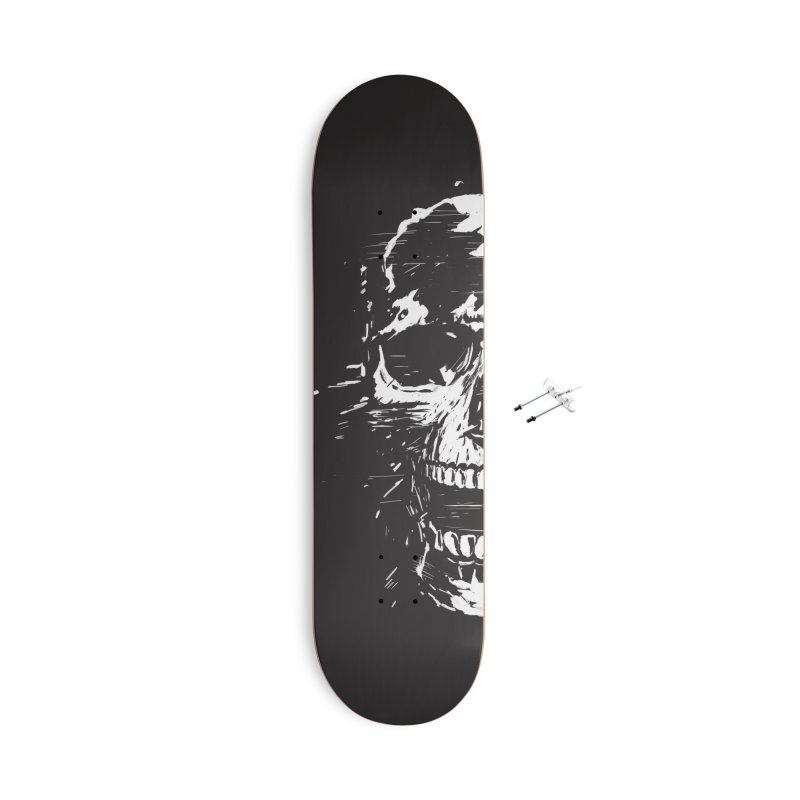 Scream Accessories With Hanging Hardware Skateboard by Balazs Solti