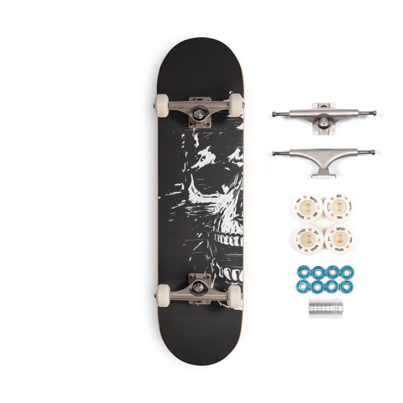 Scream Accessories Complete - Premium Skateboard by Balazs Solti