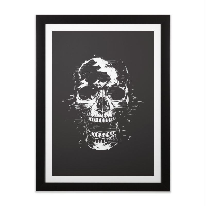 Scream Home Framed Fine Art Print by Balazs Solti