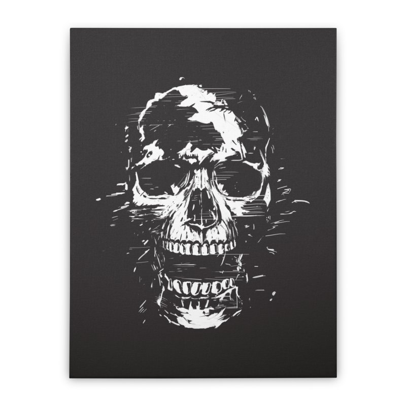 Scream Home Stretched Canvas by Balazs Solti