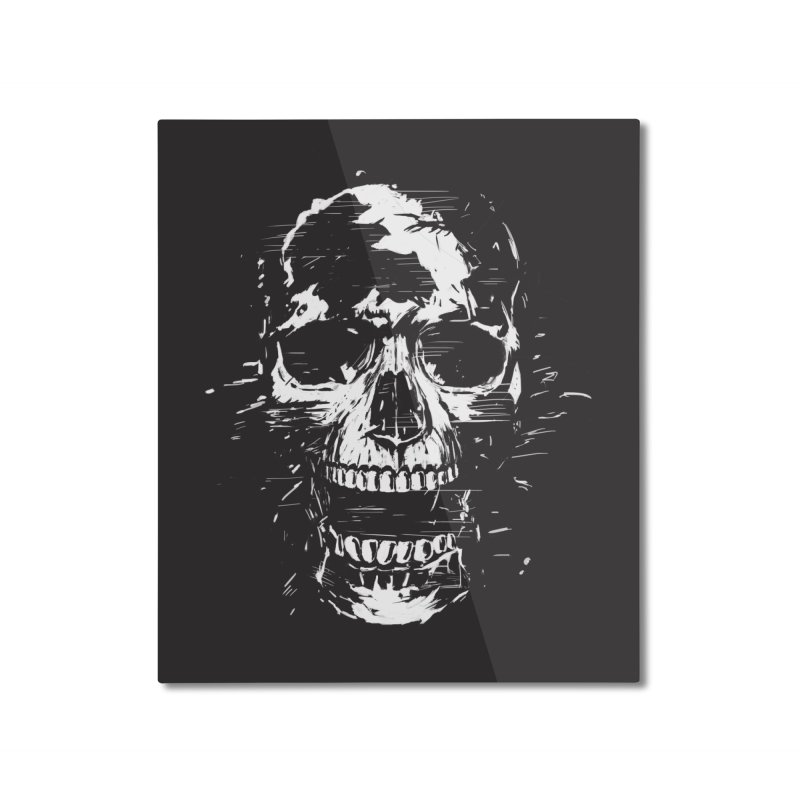 Scream Home Mounted Aluminum Print by Balazs Solti