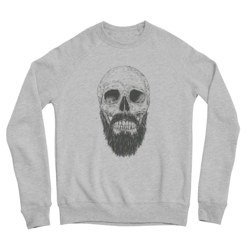 The beard is not dead Women's Sponge Fleece Sweatshirt by Balazs Solti