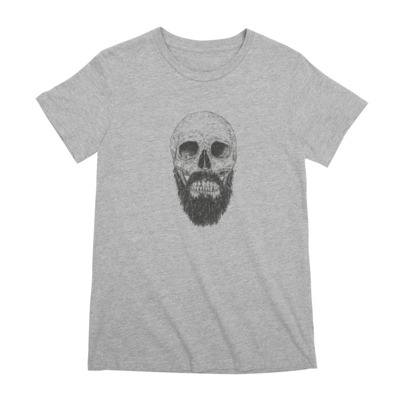 The beard is not dead Women's Premium T-Shirt by Balazs Solti