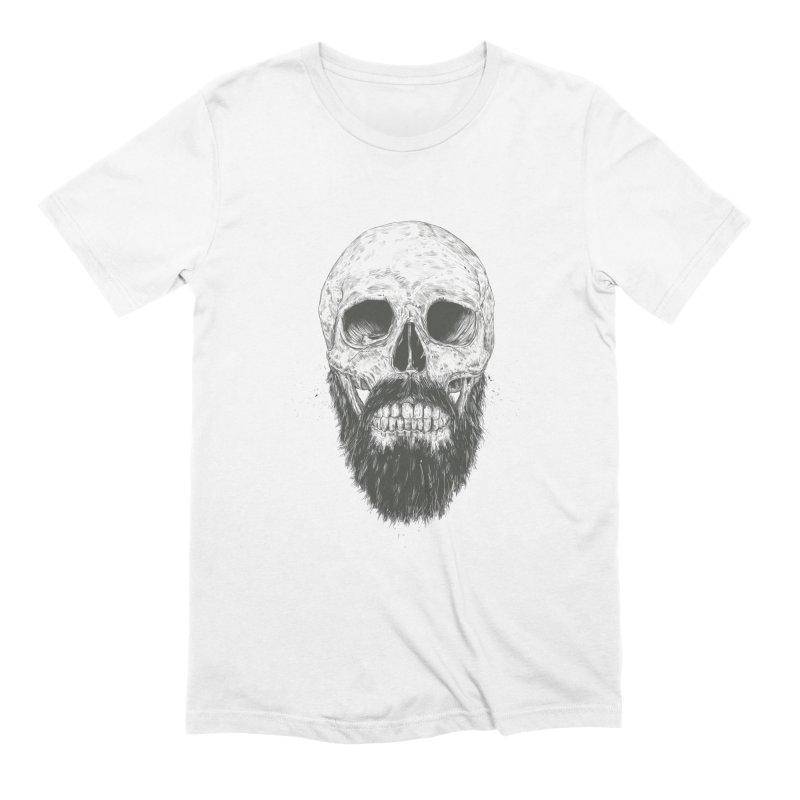 The beard is not dead Men's Extra Soft T-Shirt by Balazs Solti