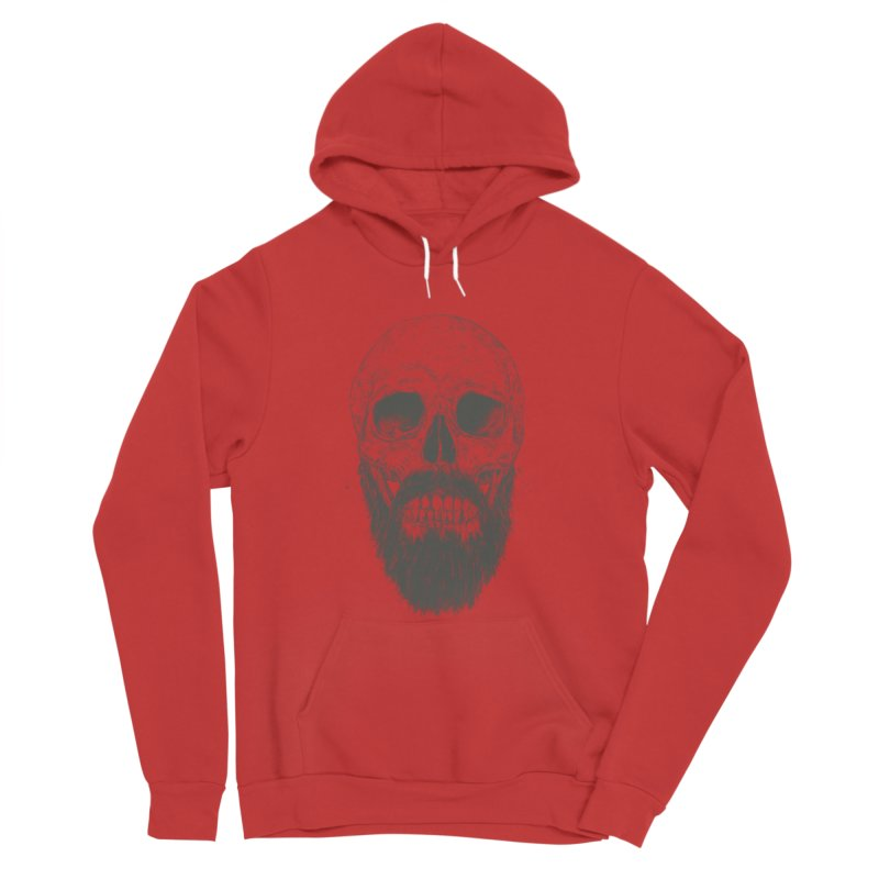 The beard is not dead Women's Pullover Hoody by Balazs Solti
