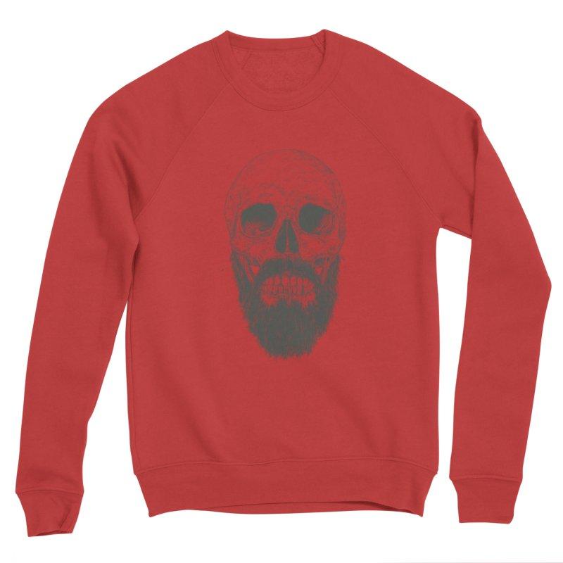 The beard is not dead Men's Sponge Fleece Sweatshirt by Balazs Solti