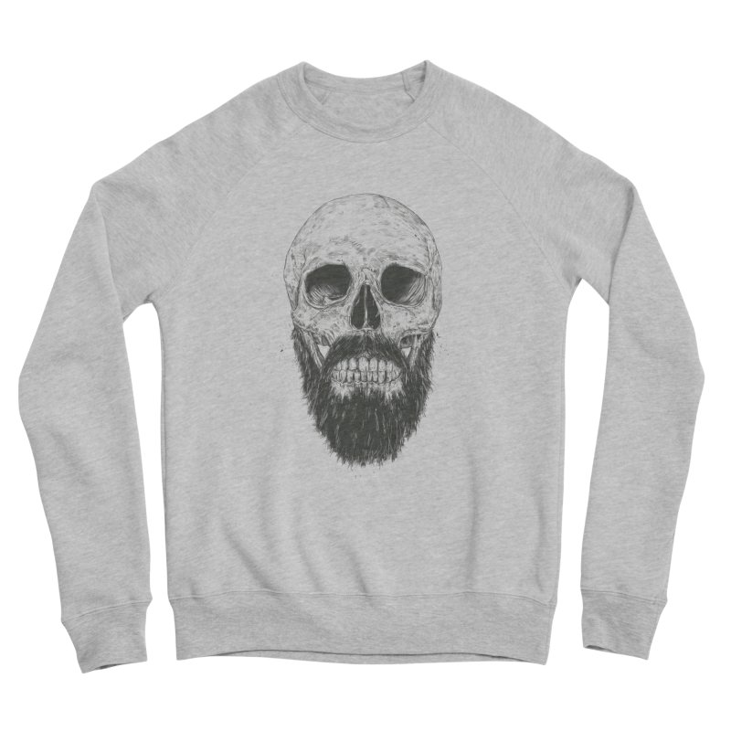 The beard is not dead Men's Sponge Fleece Sweatshirt by Balazs Solti
