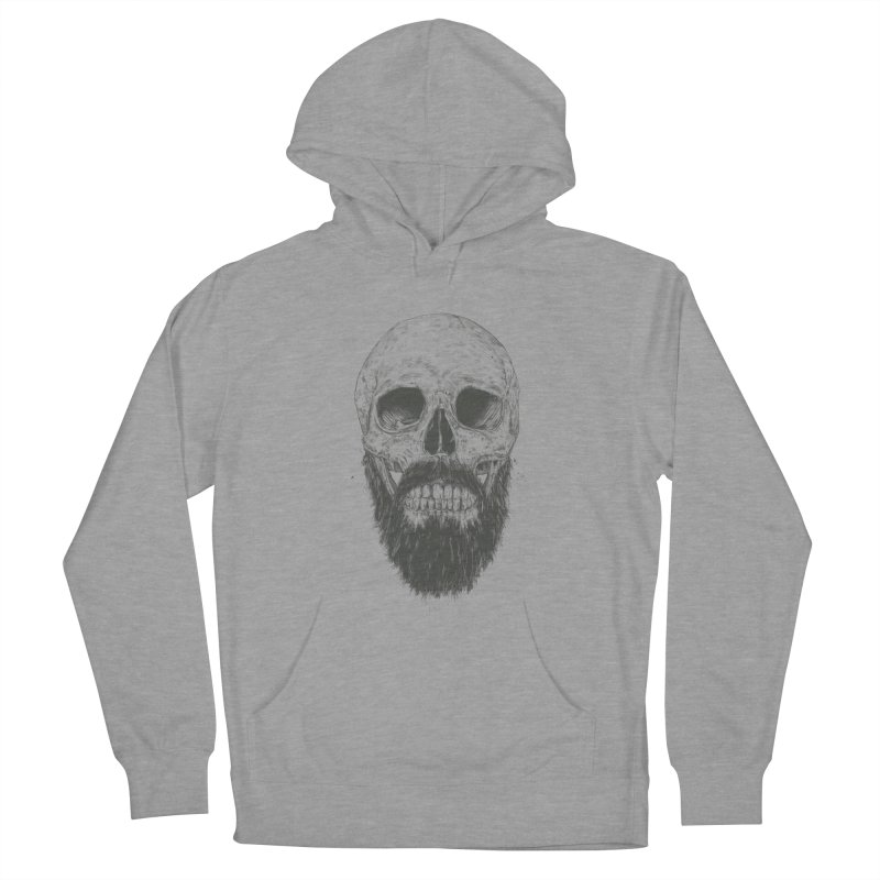 The beard is not dead Women's Pullover Hoody by Balazs Solti
