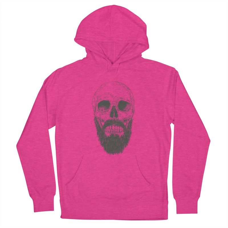 The beard is not dead Women's French Terry Pullover Hoody by Balazs Solti