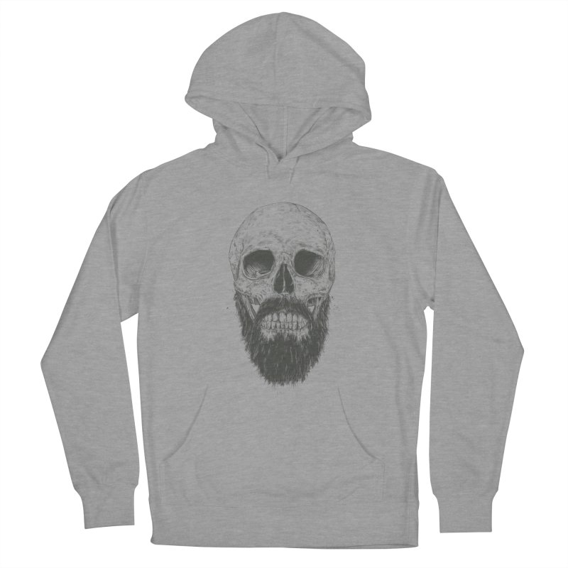 The beard is not dead Men's French Terry Pullover Hoody by Balazs Solti