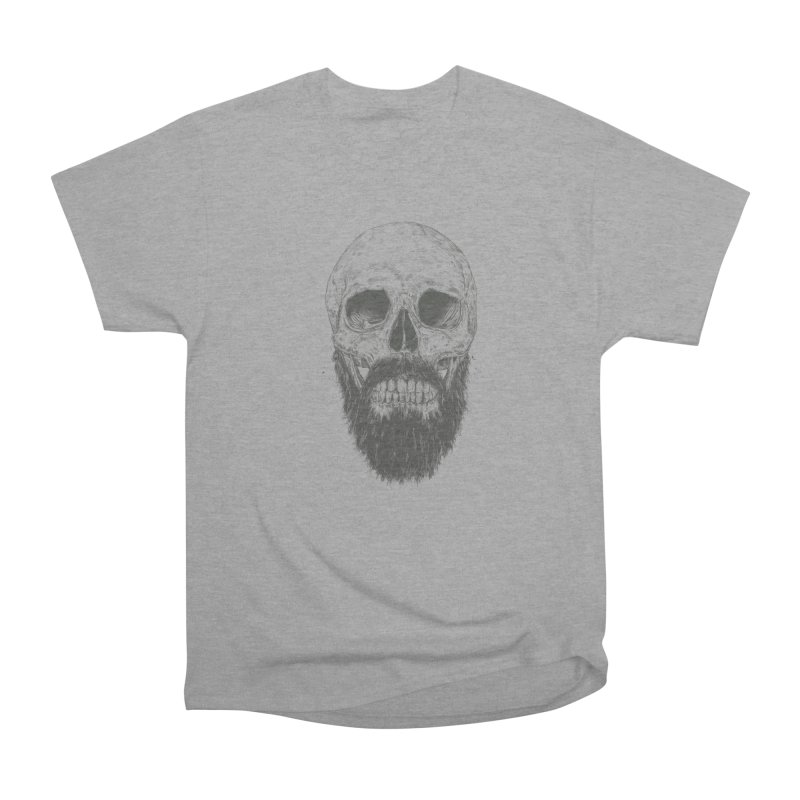 The beard is not dead Women's Heavyweight Unisex T-Shirt by Balazs Solti