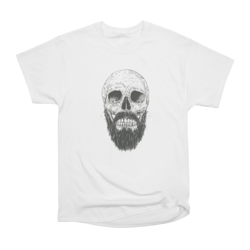 The beard is not dead Women's Heavyweight Unisex T-Shirt by Balazs Solti