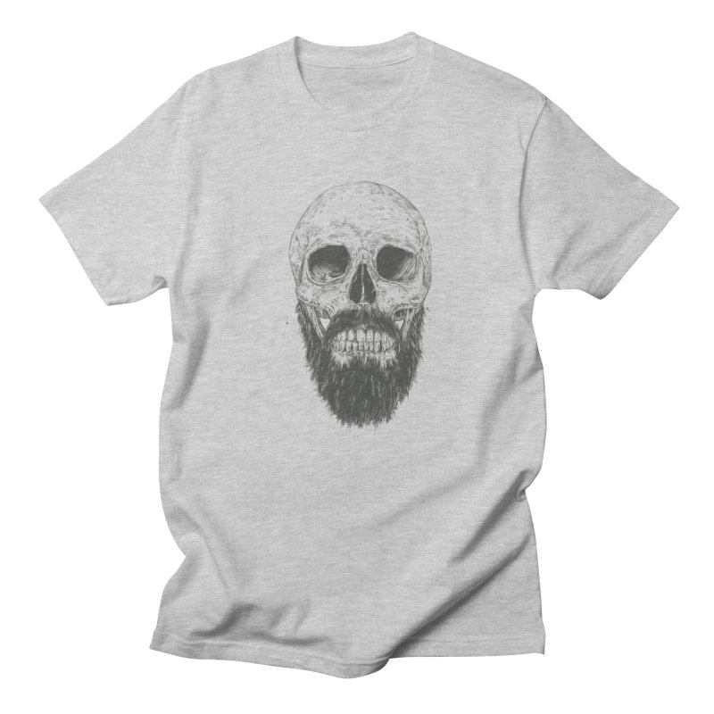 The beard is not dead Men's Regular T-Shirt by Balazs Solti