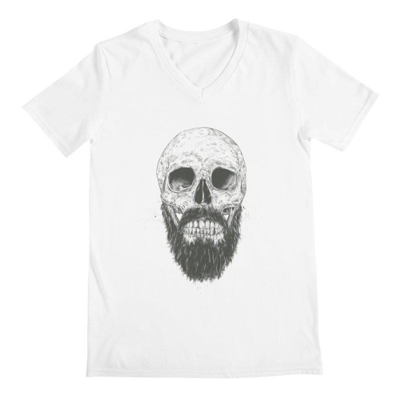The beard is not dead Men's V-Neck by Balazs Solti