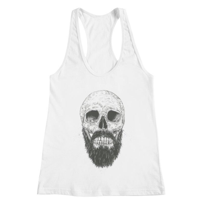 The beard is not dead Women's Tank by Balazs Solti