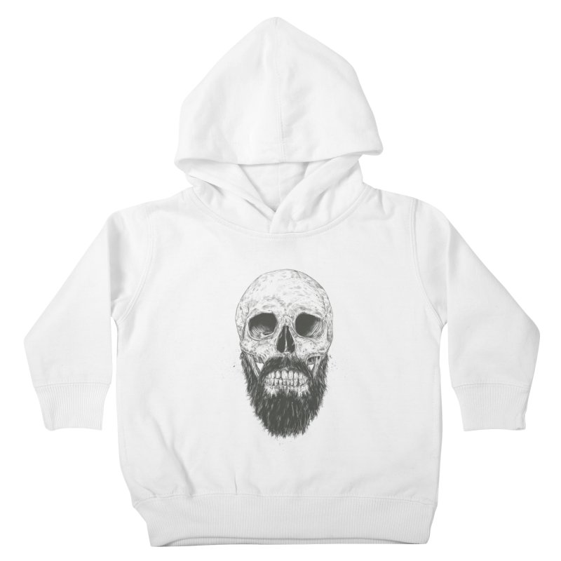 The beard is not dead Kids Toddler Pullover Hoody by Balazs Solti