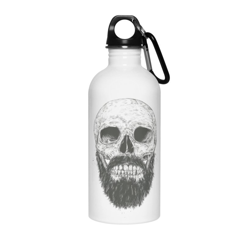 The beard is not dead Accessories Water Bottle by Balazs Solti