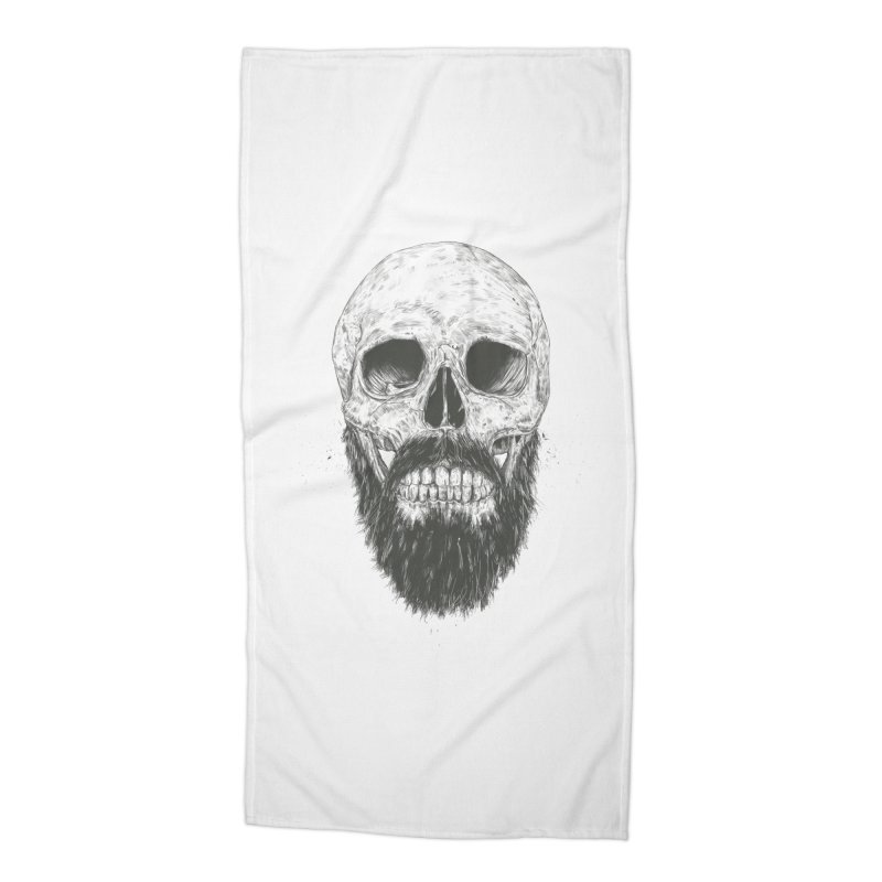 The beard is not dead Accessories Beach Towel by Balazs Solti