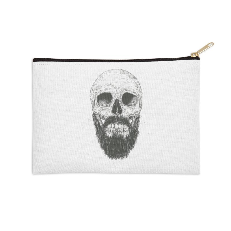 The beard is not dead Accessories Zip Pouch by Balazs Solti