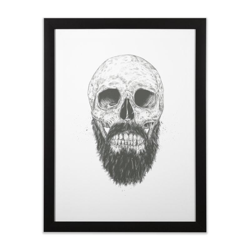The beard is not dead Home Framed Fine Art Print by Balazs Solti