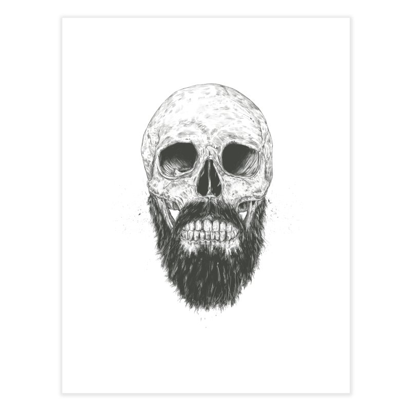 The beard is not dead Home Fine Art Print by Balazs Solti